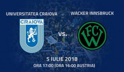 FC Wacker Innsbruck, următorul adversar al Științei