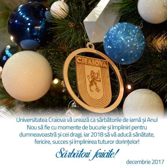 Sărbători fericite şi un an nou plin de împliniri!