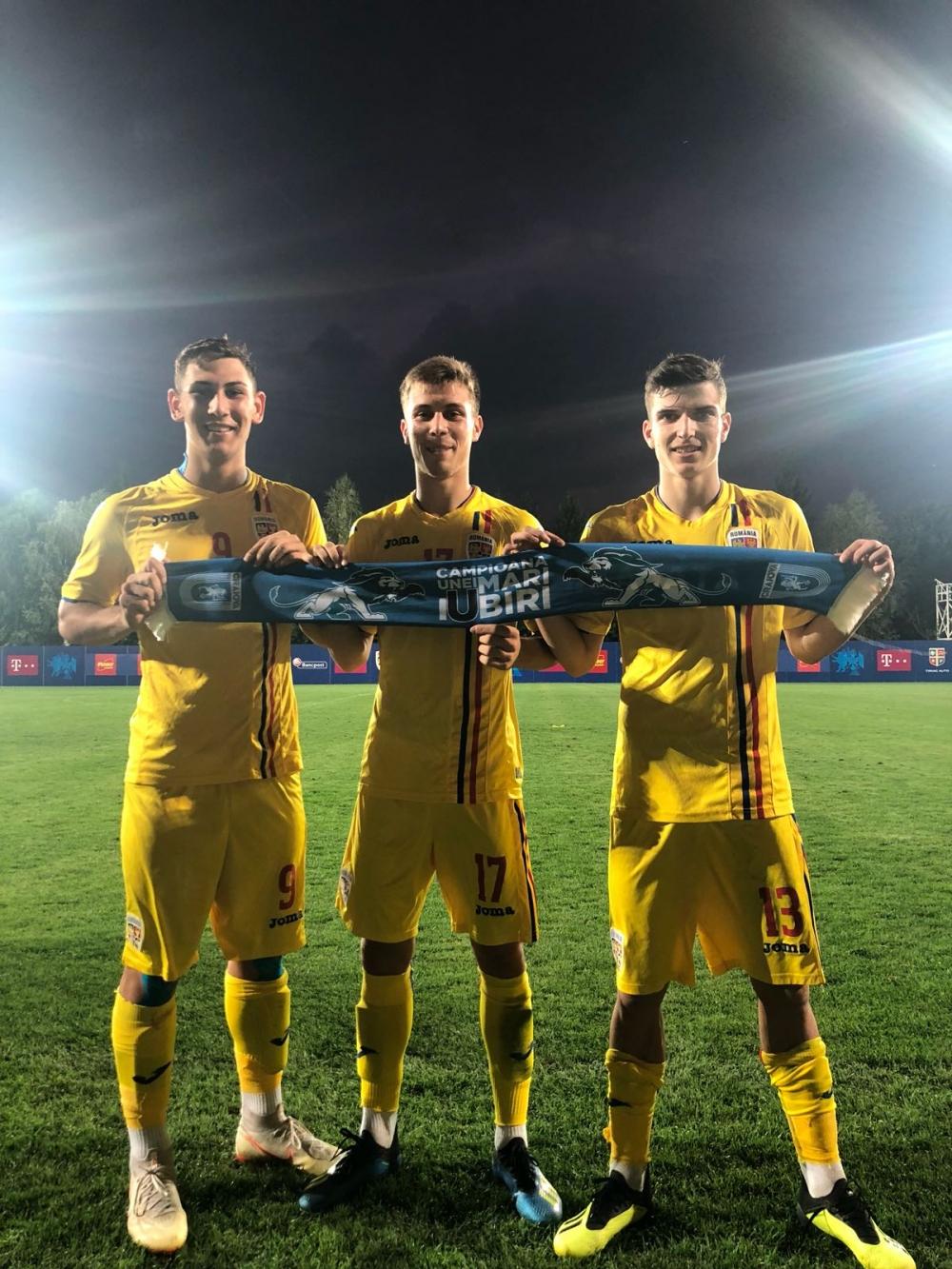 Markovic, Mihăilă și Șerban aduc victoria Naționalei Under-19