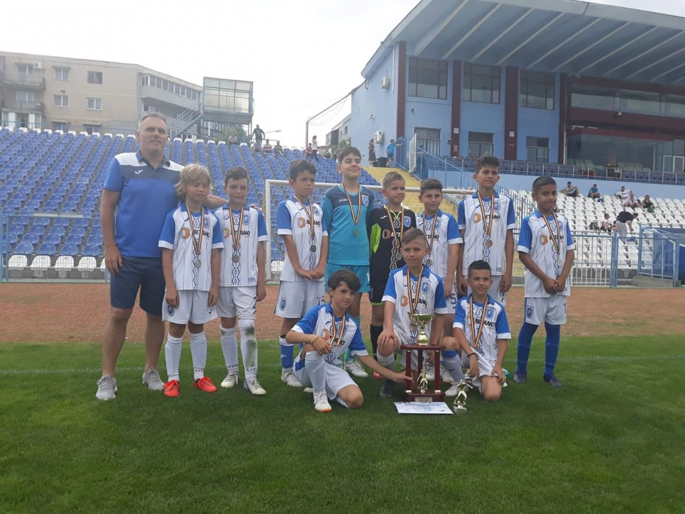 Puștii Under-10, vicecampioni la International Stars Tournament