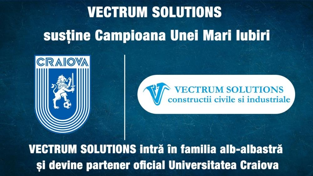 Universitatea Craiova & Vectrum Solutions, împreună spre marea performanță!