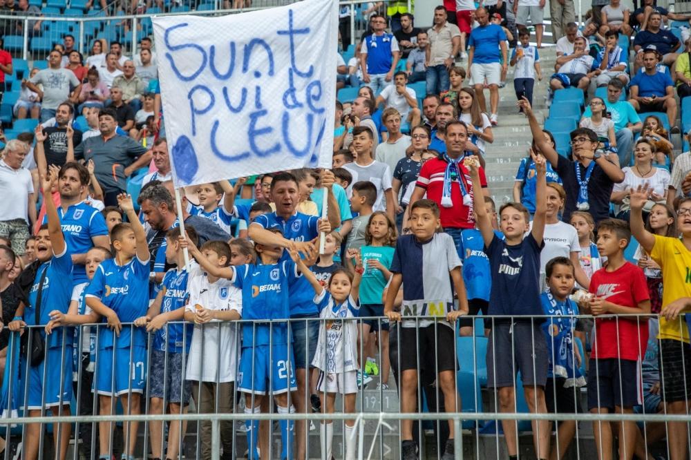 Suporterii cu vârsta de până în 14 ani au acces gratuit la meciul cu AEK Atena