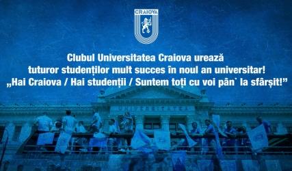 Mult succes în noul an universitar!