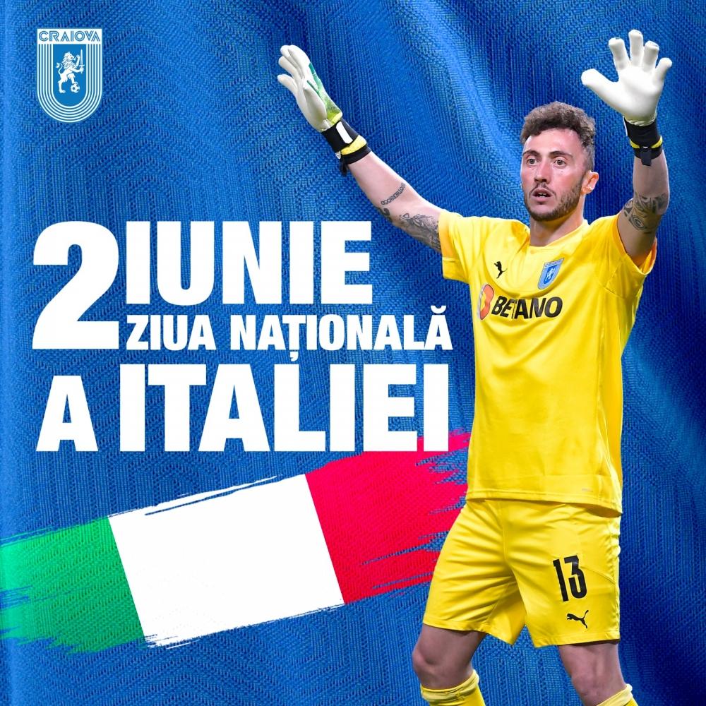 Piglia sărbătorește Ziua Națională a Italiei