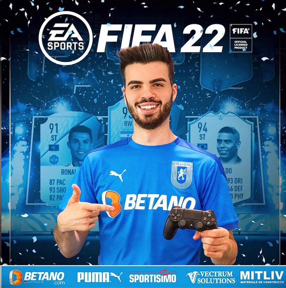 Știința, prima echipă din România care testează FIFA 22