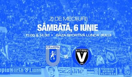 #LIVE: Universitatea Craiova - FC Viitorul