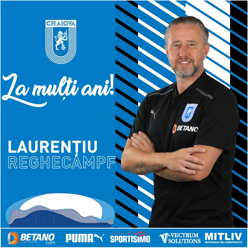 La mulți ani, Mister Laurențiu Reghecampf!