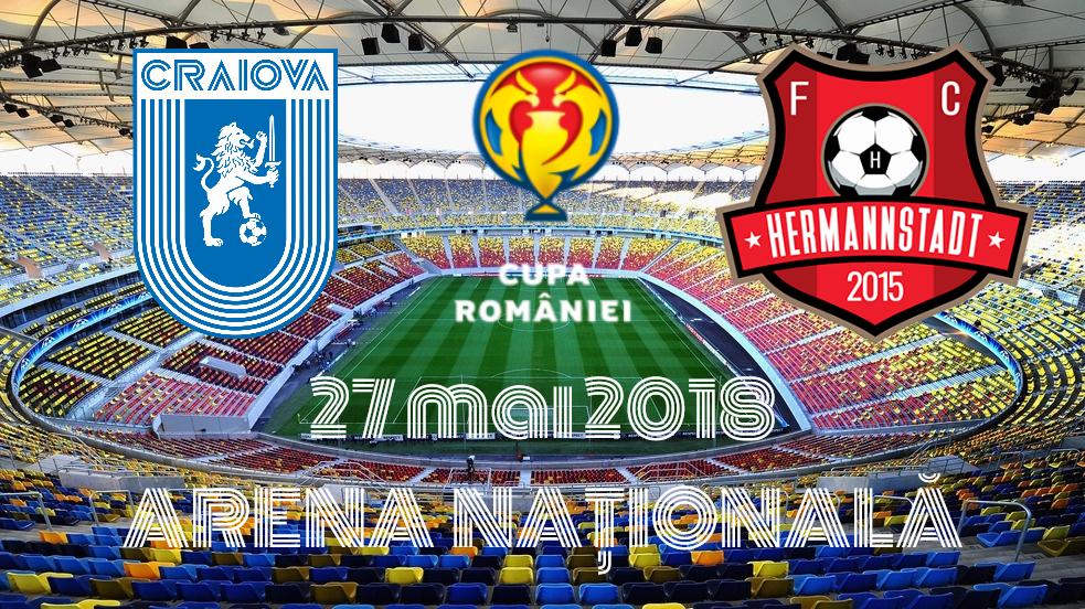 Universitatea Craiova - FC Hermannstadt, în #FINALA!