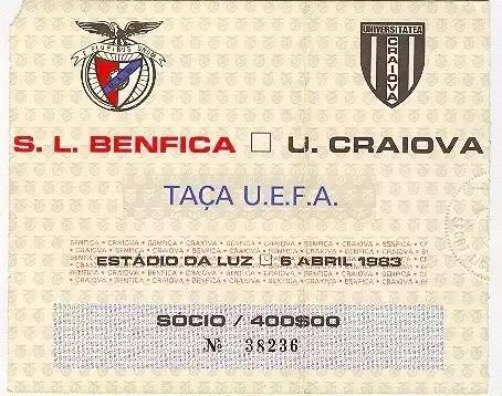 38 de ani de la semifinala de Cupă Europeană cu Benfica