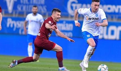 Înfrângere cu CFR Cluj