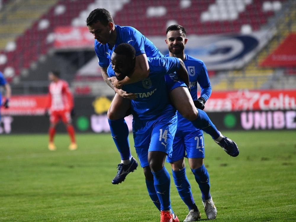 Victorie la Arad și urcăm pe locul 1
