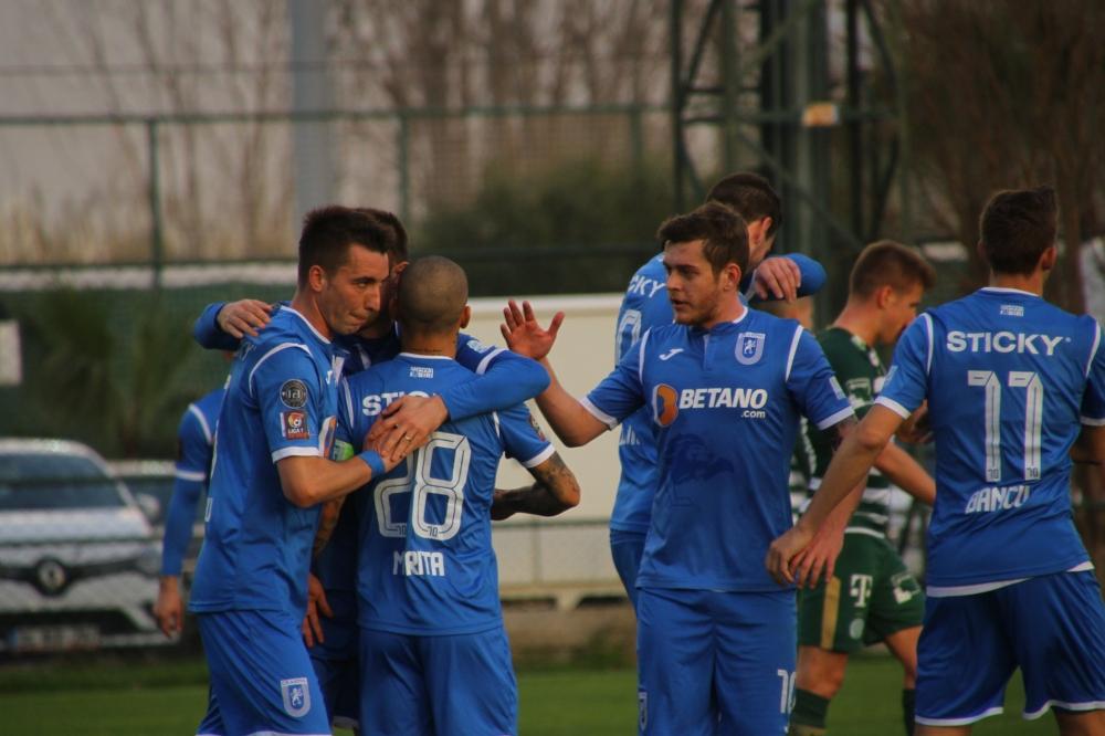 Două remize cu Ferencvaros în ultima zi de cantonament