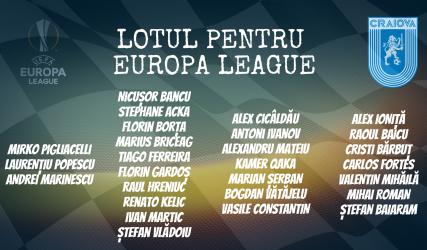 Lotul Științei pentru UEFA Europa League