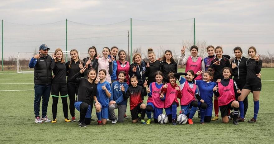 Continuăm selecțiile pentru formarea echipei de fotbal feminin Under-15