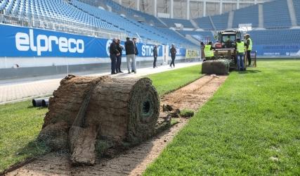 """Gazonul de pe stadionul """"Ion Oblemenco"""" va fi schimbat"""