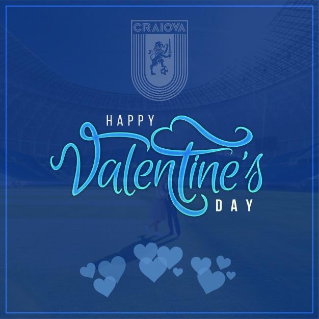 Ziua îndrăgostiților... de alb-albastrul Științei!