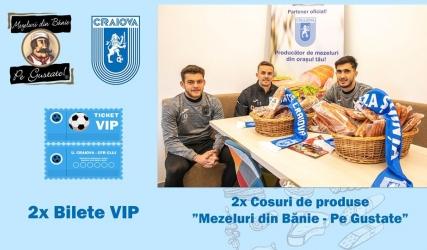 Mezeluri din Bănie - Pe Gustate îți oferă o experiență VIP la meciul cu CFR Cluj