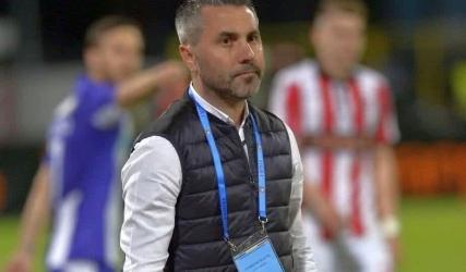 Antrenorul secund, Adrian Neaga, la Oltenia TV