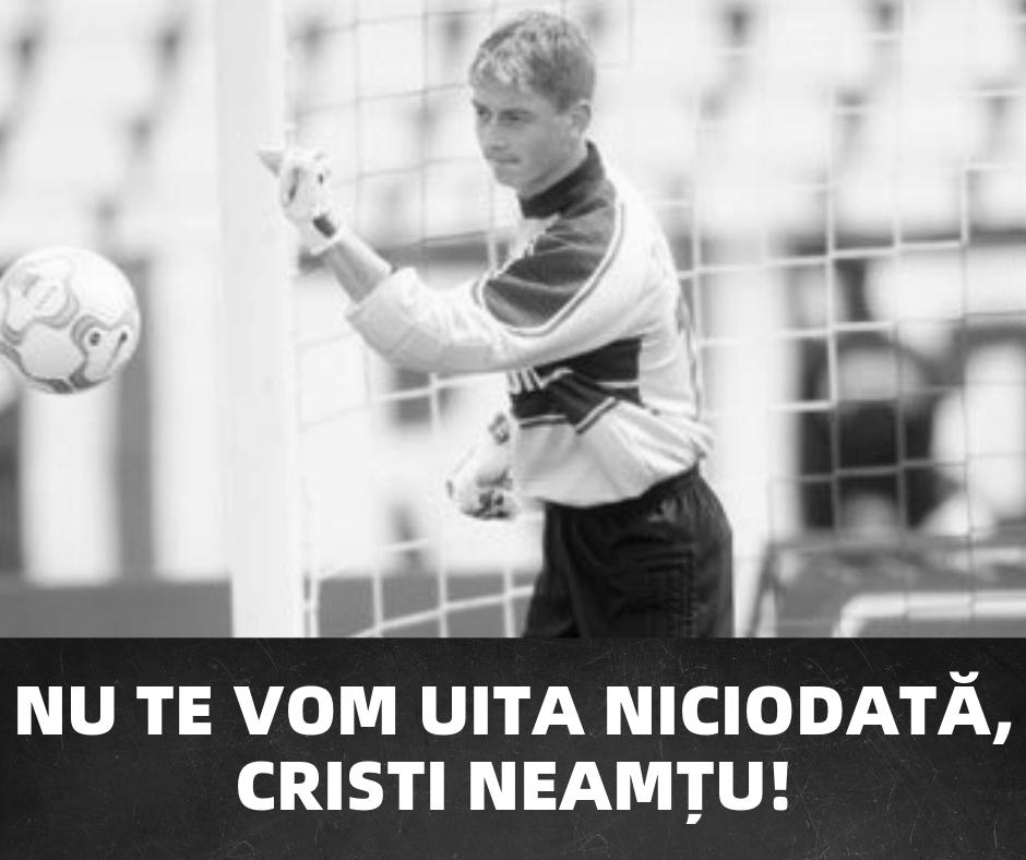 Omagiu adus lui Cristi Neamțu