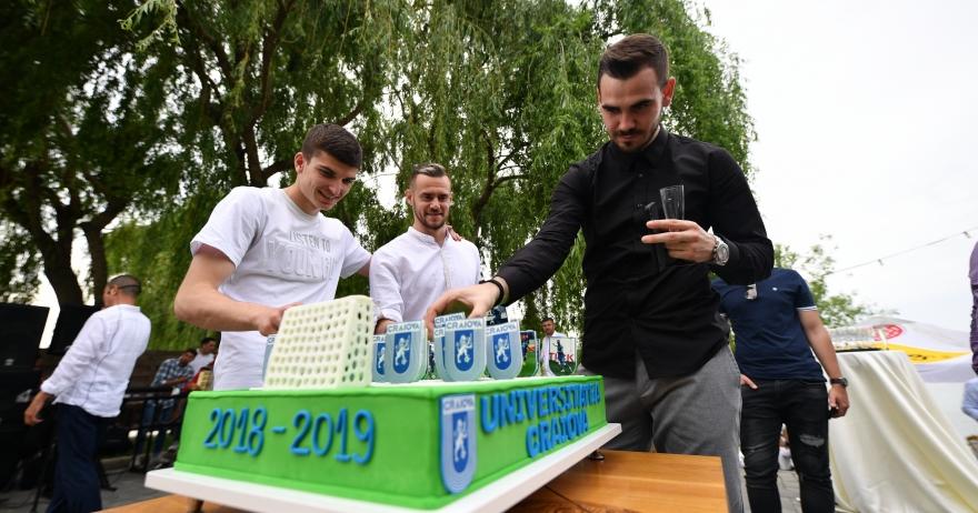 Petrecere de final de sezon Universitatea Craiova