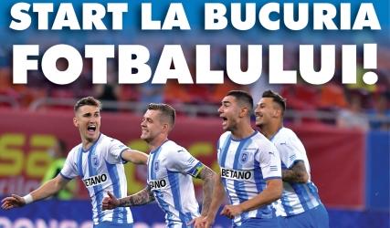 Programul de meci cu FC Argeș, în format digital
