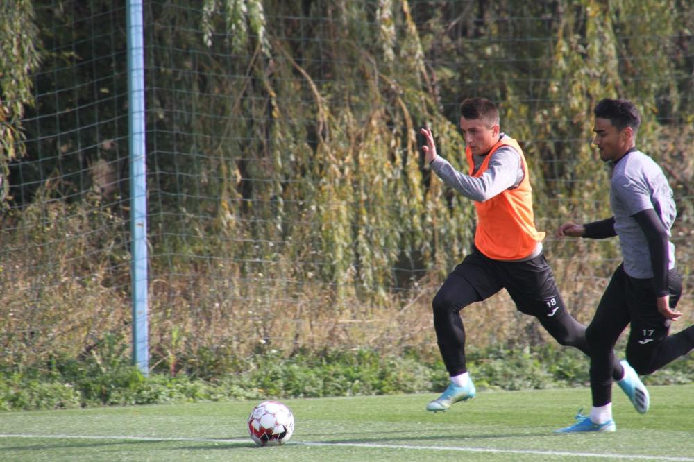 Ultimele pregătiri înaintea duelului cu Dinamo