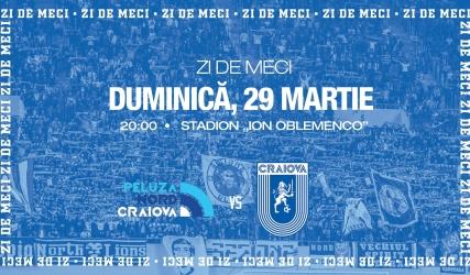 #LIVE: Peluza Nord Craiova - Universitatea Craiova (FIFA 20)
